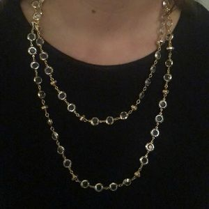 Ted Baker Long Crystal Necklace